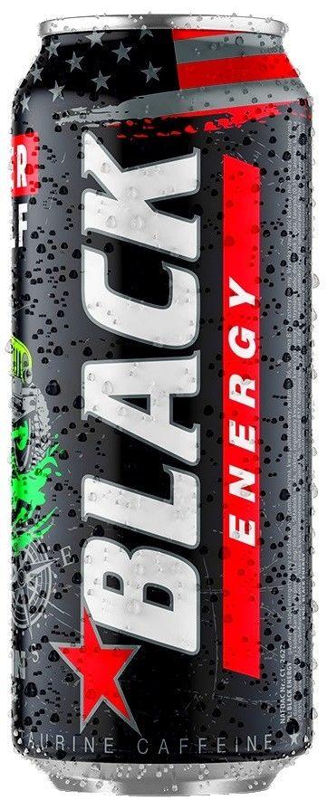 Напиток Black Energy Classic Энергетический 500мл
