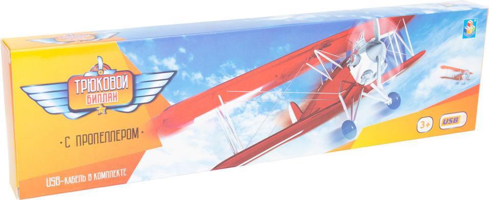 Игрушка 1Toy Самолет электромеханический
