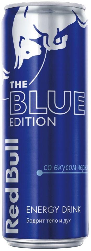 Напиток Red Bull Blue Edition энергетический 355мл (упаковка 12 шт.)