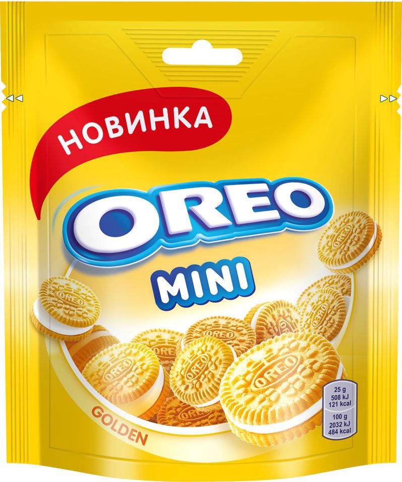 Печенье Oreo Mini Golden с ванильной начинкой 100г