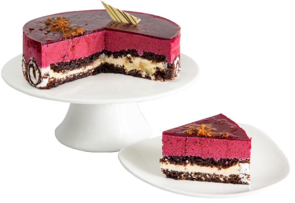 Торт Ресторанная коллекция Черносмородиновый 1кг