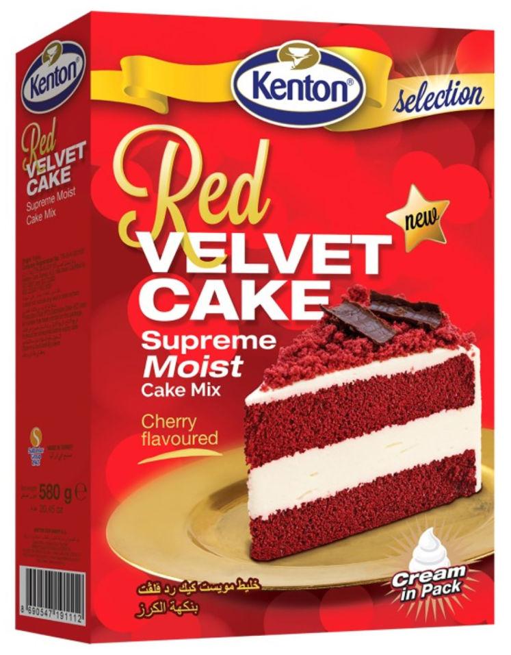 Смесь для выпечки Kenton Красный бархат 580г