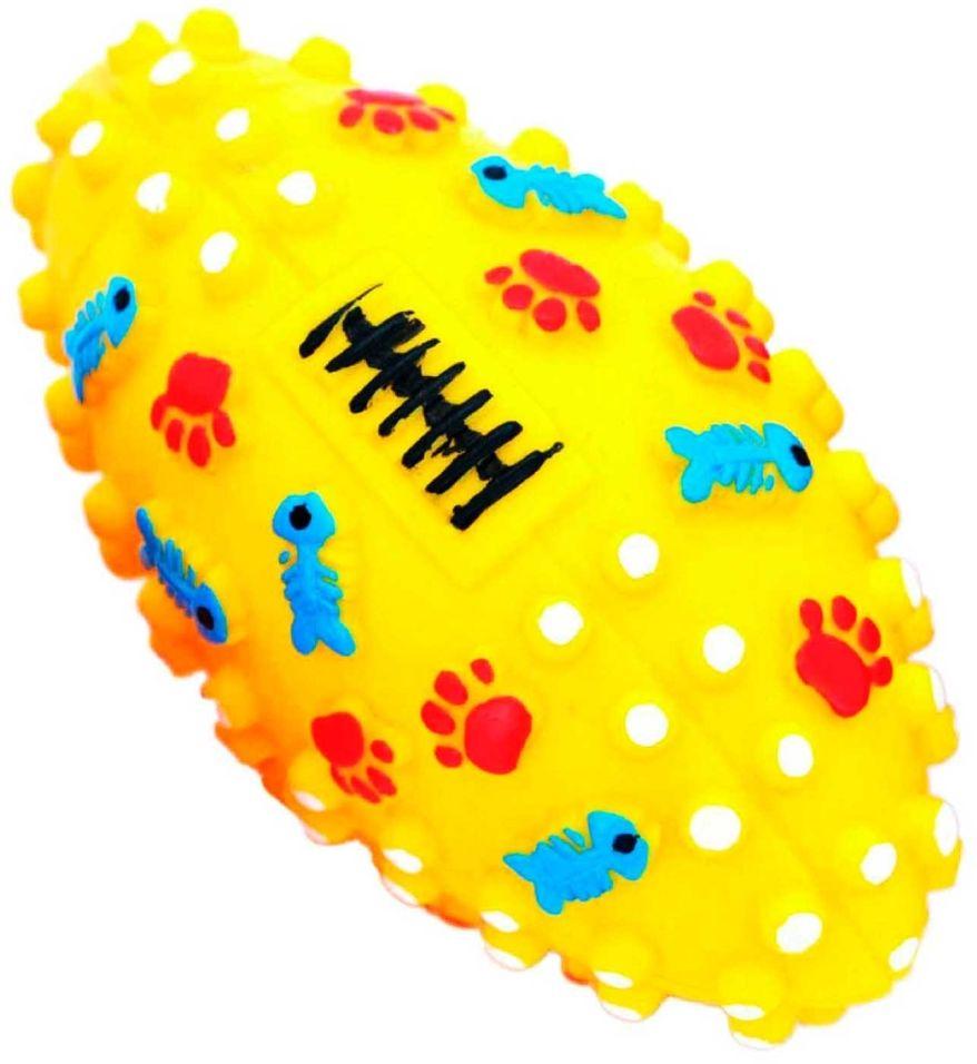 Игрушка для собак Lilli Pet Мяч для регби d=13.5см в ассортименте