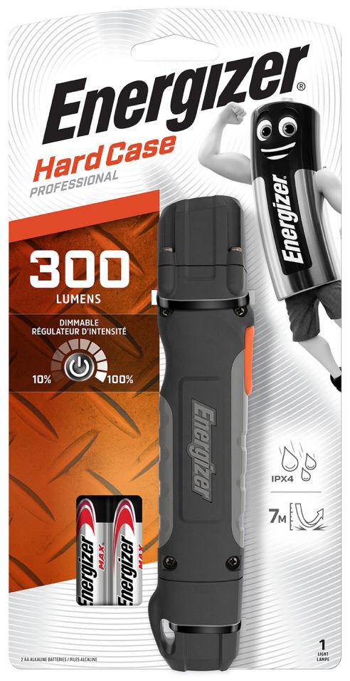 Фонарь Energizer Hard Case 300 lumens + 2AA