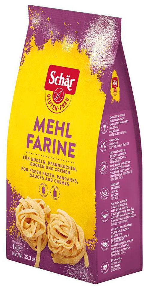 Сухая смесь Schar Farina Mehl для сладкой выпечки без глютена 1кг
