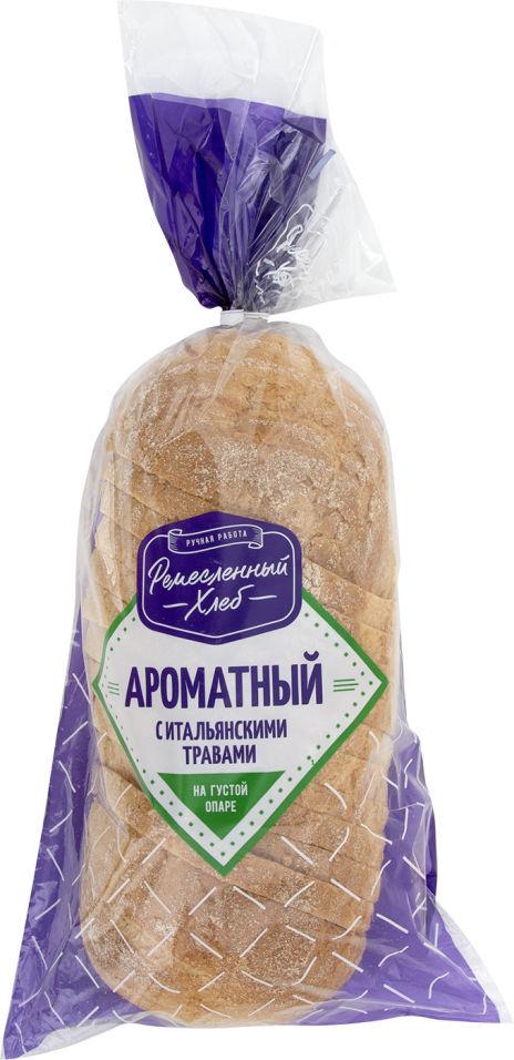 Хлеб Ремесленный хлеб Ароматный с итальянскими травами 350г