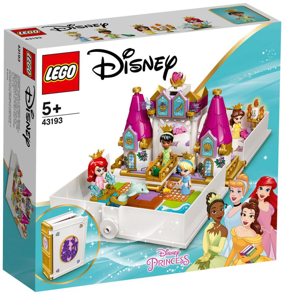 Конструктор LEGO Disney 43193 Книга сказочных приключений Ариэль Белль Золушки и Тианы