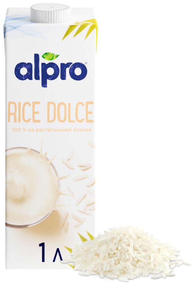 Напиток рисовый Alpro со вкусом ванили 1.3% 1л