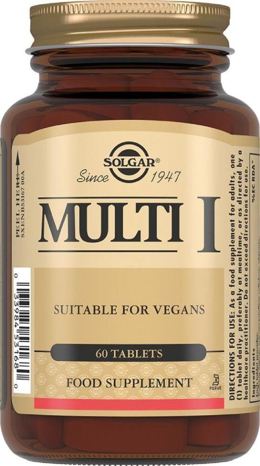 БАД Solgar Мульти-1 1650мг 60 таблеток