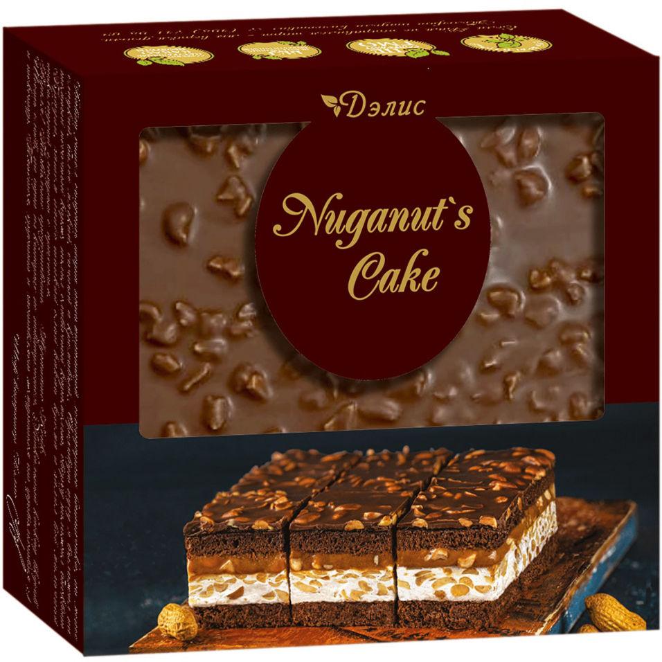 Торт La Creme Клер Дэлис Nuganuts cake 600г