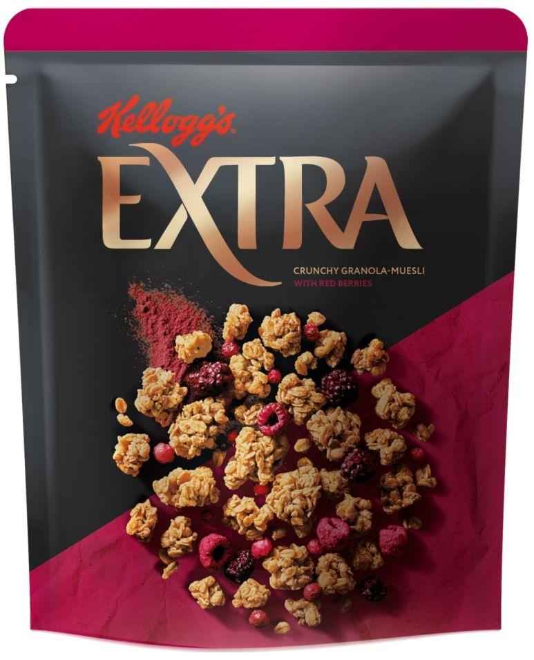 Гранола-мюсли Kelloggs Extra с красными ягодами 300г
