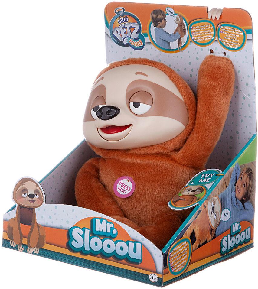 Игрушка интерактивная IMC Toys Ленивец Mr. Slooou
