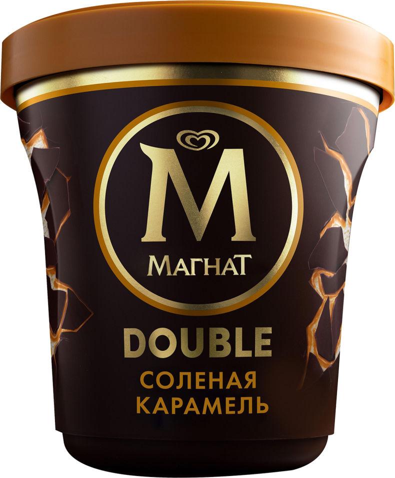Мороженое Магнат Double Соленая карамель 10% 310г