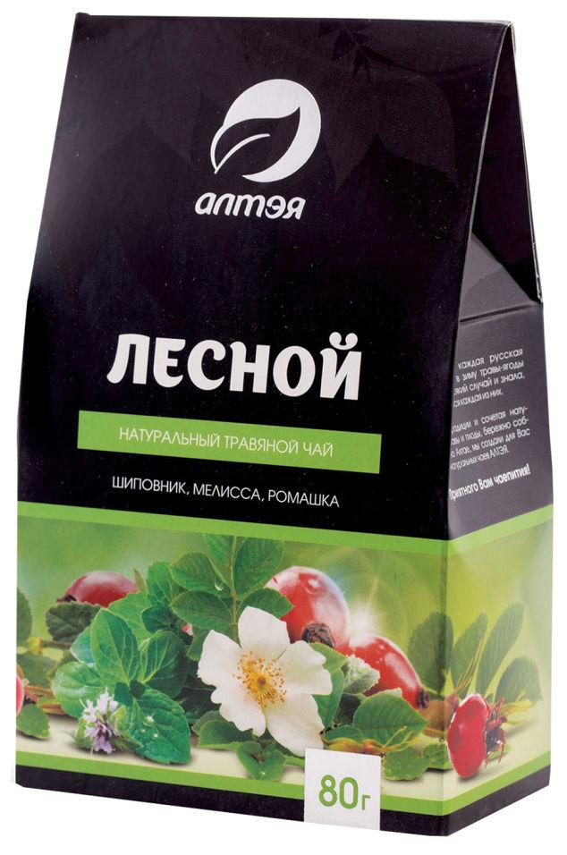 Чай травяной Алтэя Лесной 80г