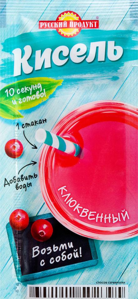 Кисель Русский продукт Клюква 25г
