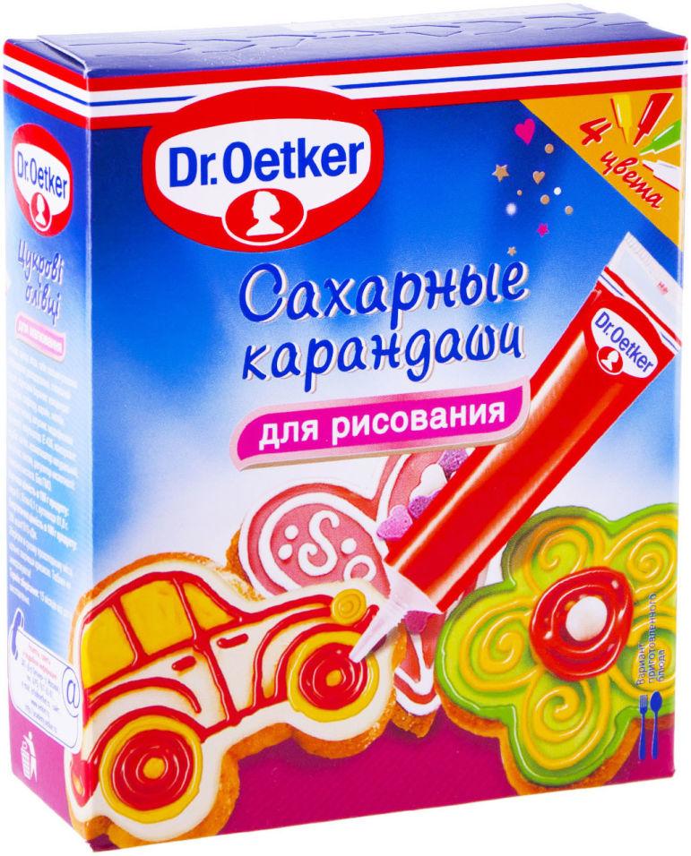 Сахарные карандаши Dr.Oetker 76г