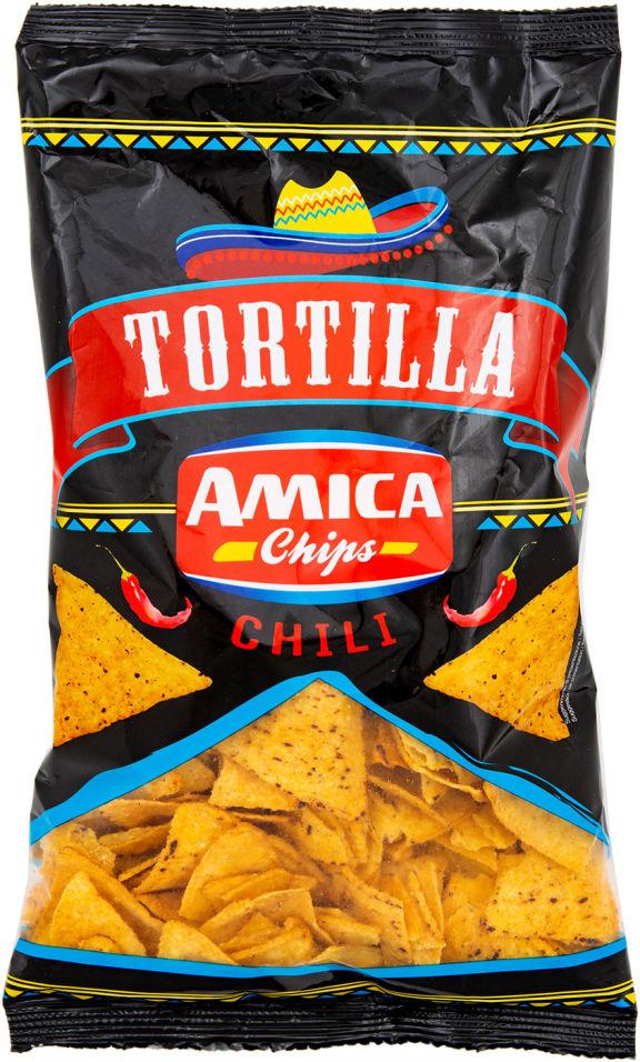 Чипсы Amica Chips Кукурузные чили 200г