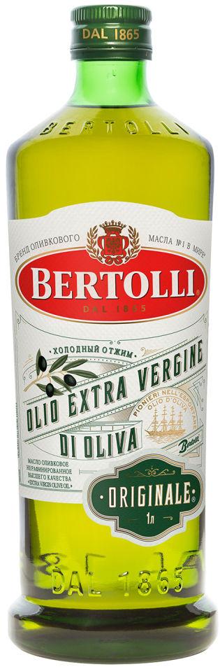 Отзывы о Масле оливковом Bertolli Extra Virgin Originale 1л