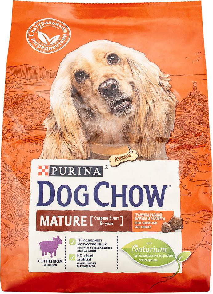 Сухой корм для собак Dog Chow Mature Ягненок 2.5кг