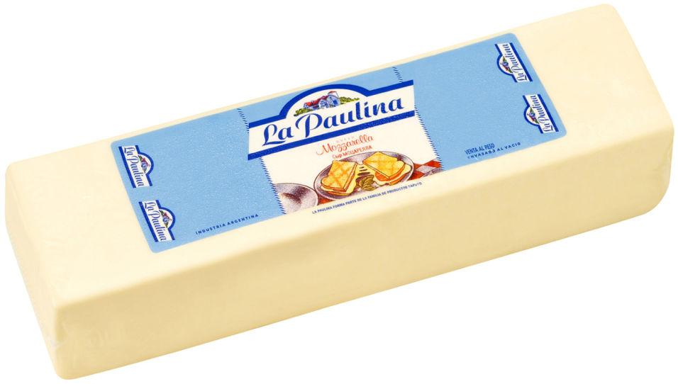 Отзывы о Сыре La Paulina Моцарелла 42% 0.2-0.4кг