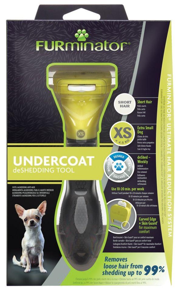 Фурминатор FURminator XS для карликовых собак с короткой шерстью