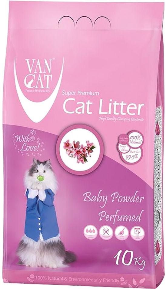 Отзывы о Наполнителе для кошачьего туалета Van Cat Детская присыпка комкующийся 10кг
