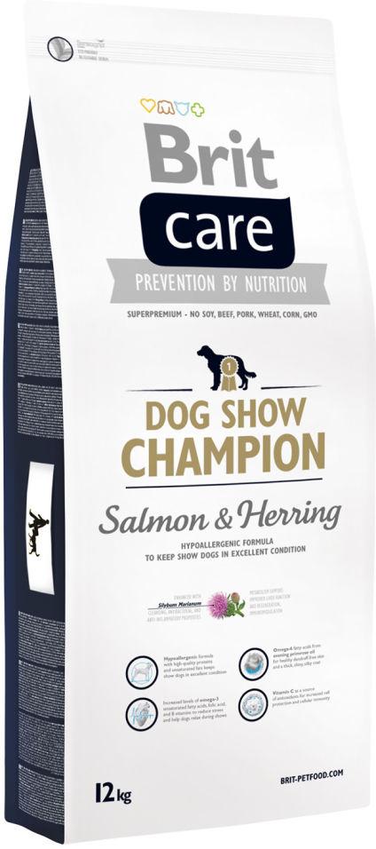 Сухой корм для собак Brit Care Dog Show Champion Salmon & Herring 12кг
