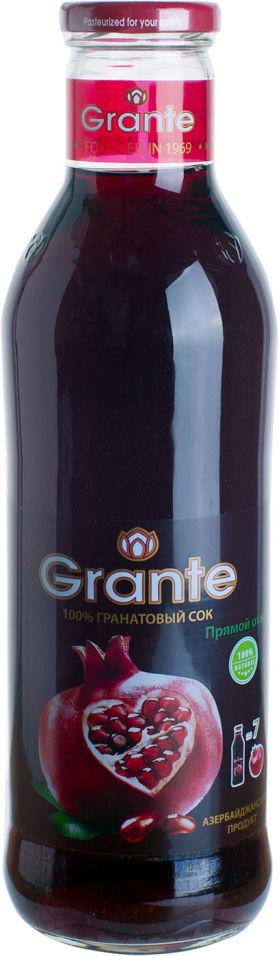 Сок Grante Гранатовый прямого отжима 750мл