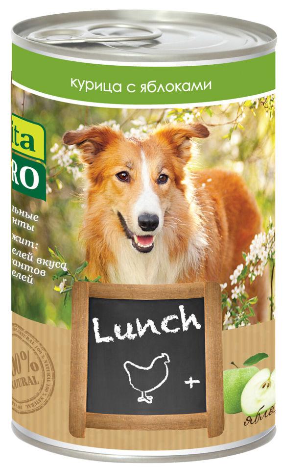 Корм для собак Vita pro Курица с яблоками 400г