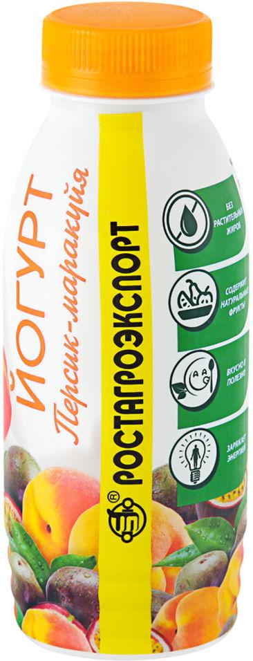 Отзывы о Йогурте питьевом РостАгроКомплекс Персик-Маракуйя 2.5% 290г