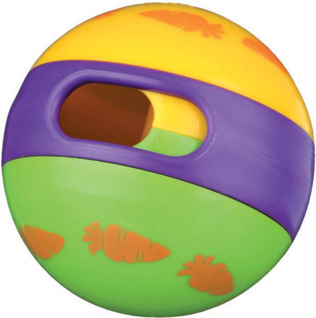 Отзывы о Игрушке для грызунов Trixie Мяч для лакомств для кроликов 6см