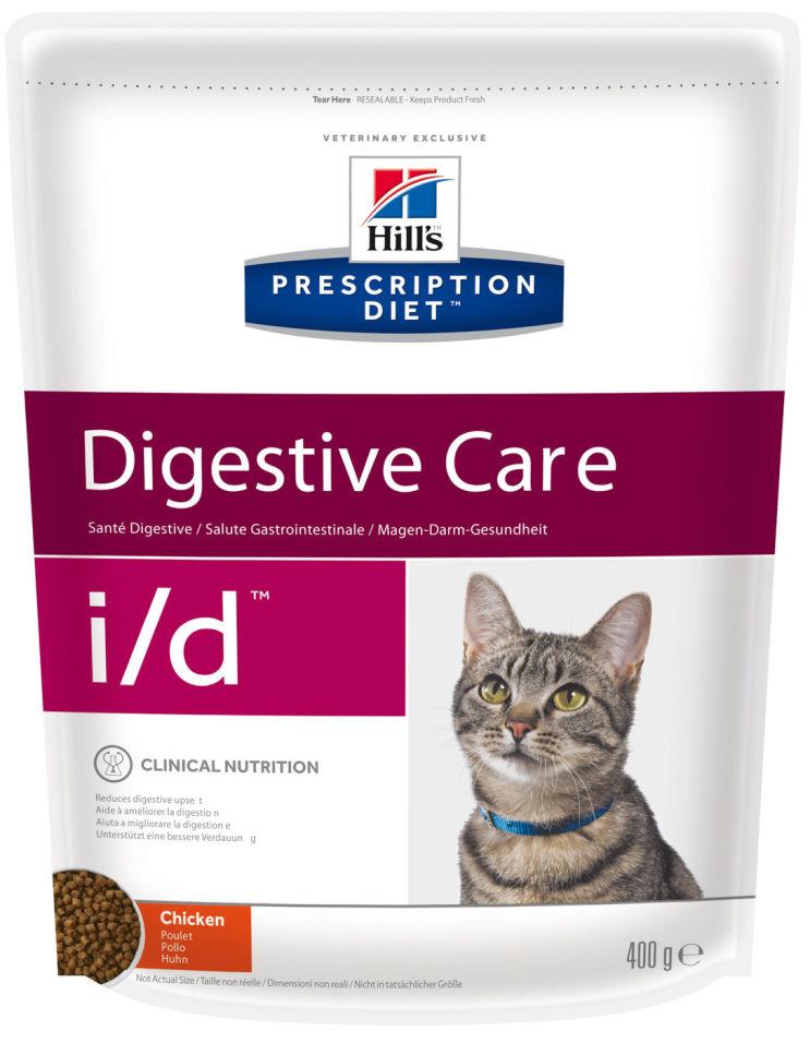 Cухой корм для кошек Hills Prescription Diet при проблемах с ЖКТ с курицей 400г