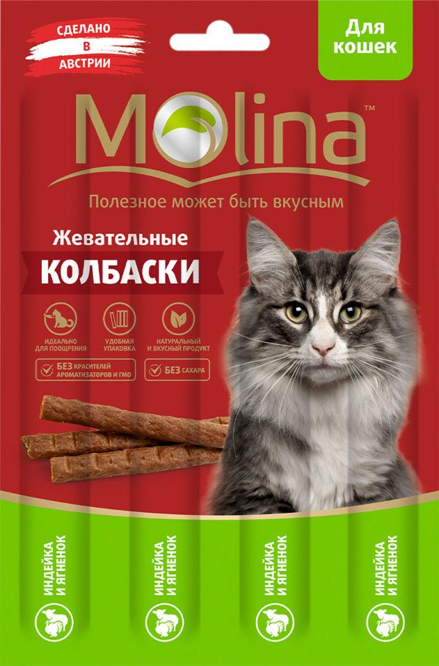 Лакомство для кошек Molina Индейка-ягненок 20г