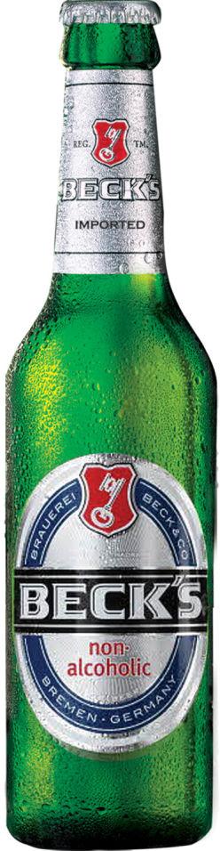 Пиво Beck's Blue безалкогольное 0.3% 0.33л