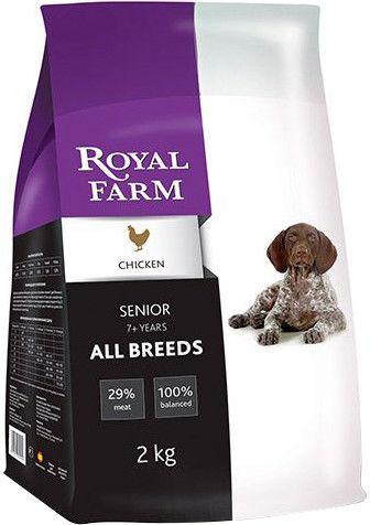 Сухой корм для собак Royal Farm Senior Курица 2кг