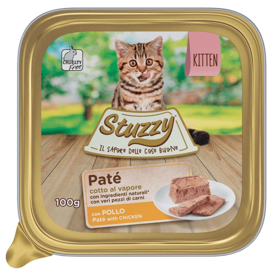 Отзывы о Корме для котят Stuzzy Pate Cat паштет с курицей 100г