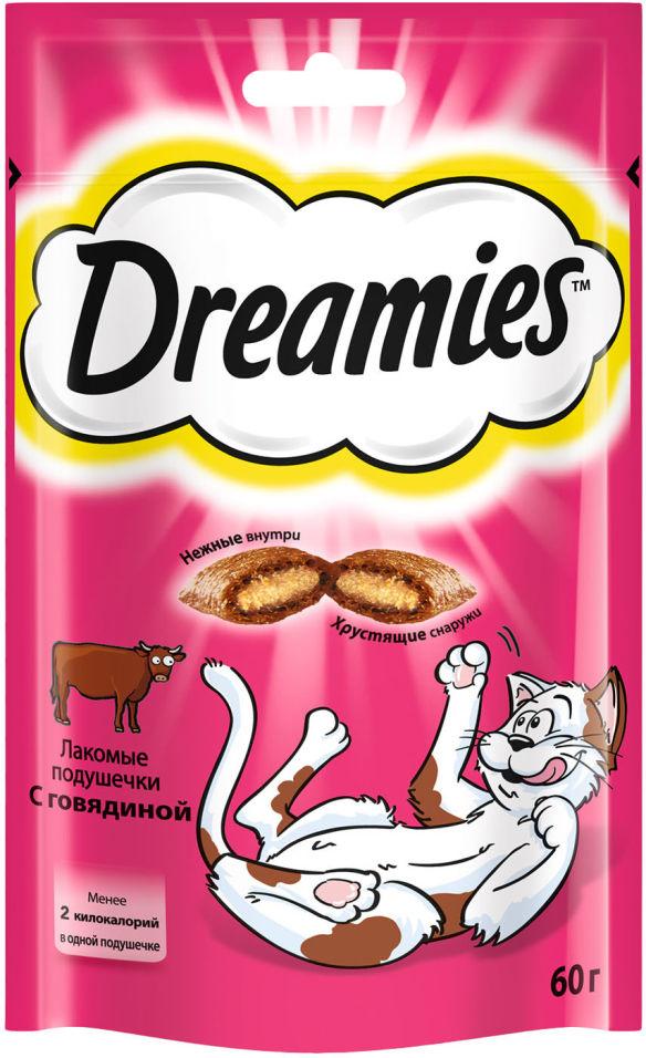 Лакомство для кошек Dreamies с говядиной 60г