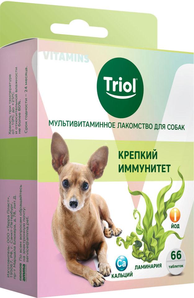Лакомство для собак Triol Крепкий иммунитет 30г