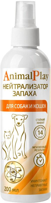 Отзывы о Нейтрализаторе запаха Animal Play для животных 200мл