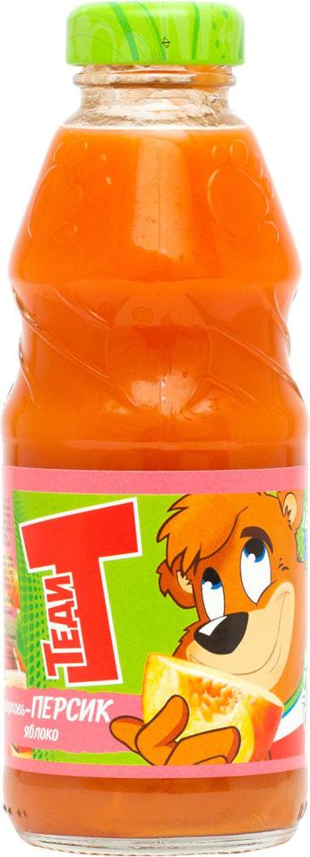 Нектар Теди Морковь-персик-яблоко 300мл