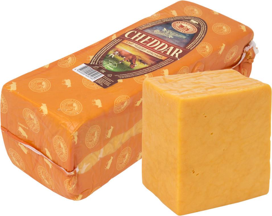 Отзывы о Сыре Староминском сыродел Чеддер красный 50%