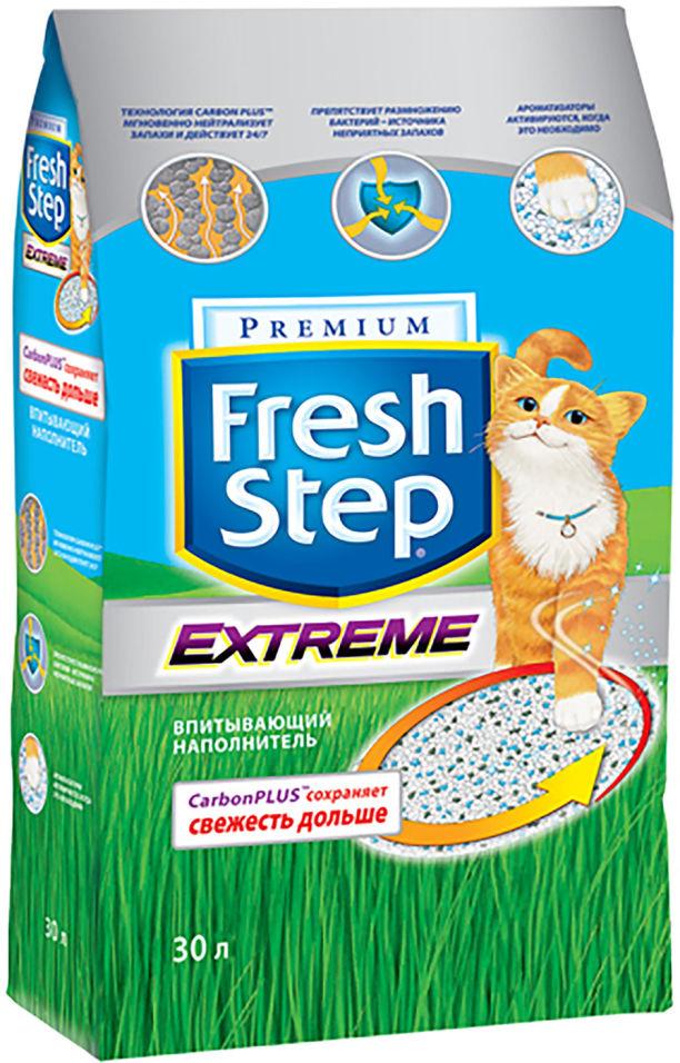 Отзывы о Наполнителе для кошачьего туалета Fresh Step тройной контроль запахов 30л