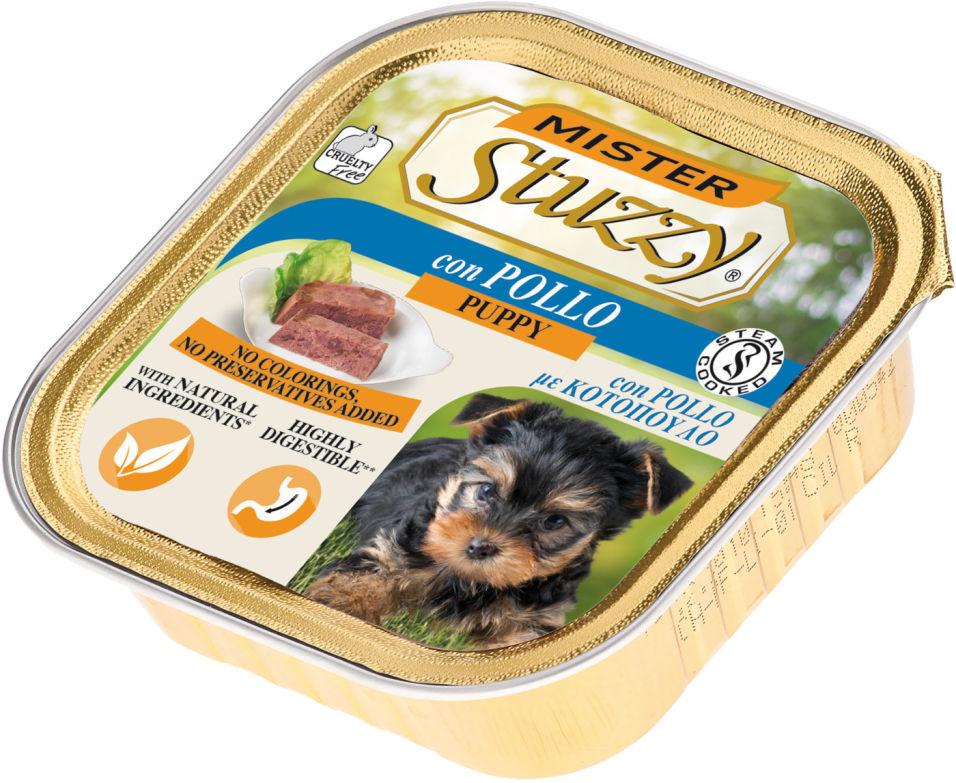 Корм для щенком Mister Stuzzy Dog с курицей 150г