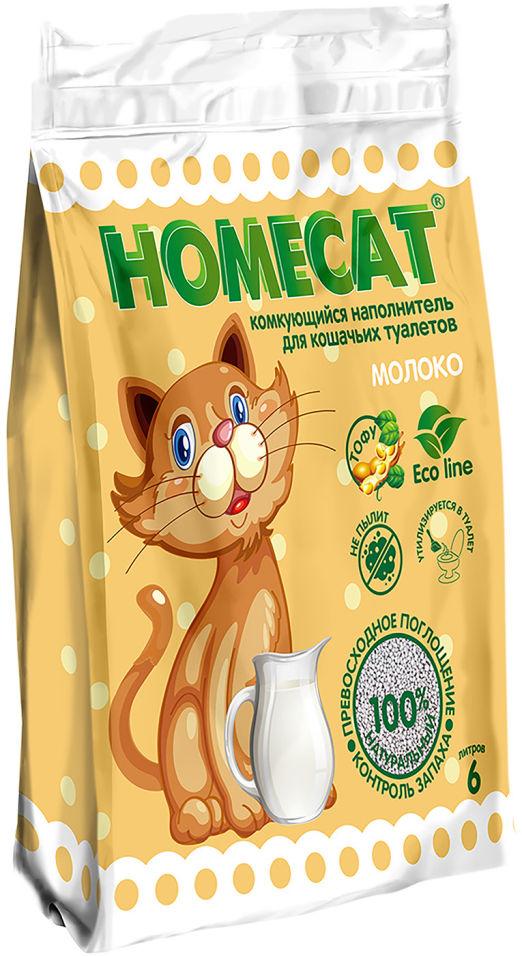 Отзывы о Наполнителе для кошачьего туалета Homecat Молоко 6л