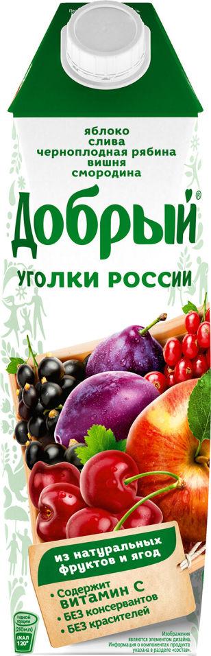 Нектар Добрый из смеси фруктов и ягод 1л