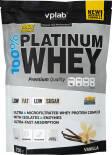 Протеин Vplab 100% Platinum Whey Ваниль 750г