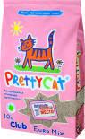 Наполнитель для кошачьего туалета PrettyCat Euro Mix комкующийся 10кг