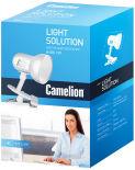 Светильник настольный Camelion H-035 220В 60Вт белый