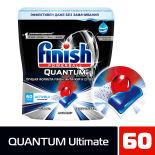 Таблетки для посудомоечных машин Finish Quantum Ultimate 60шт