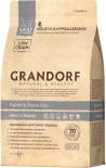 Сухой корм для кошек Grandorf Adult Кролик с рисом 400г